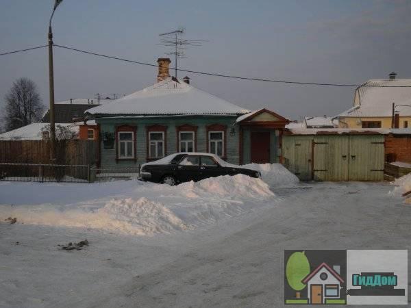 Дом № 7 по улице Арбатской, называемый Домом Пильняка.