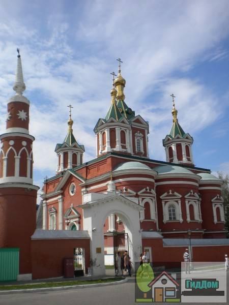 Храм Брусенского монастыря