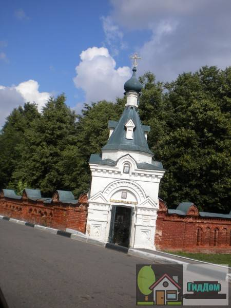 Часовня у Мемориального парка