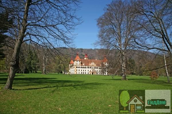 (Schloss Eggenberg samt Park)