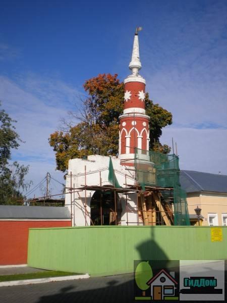 Башня ограды Брусенского монастыря