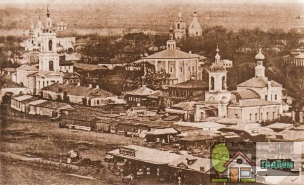 Житная площадь на старой открытке