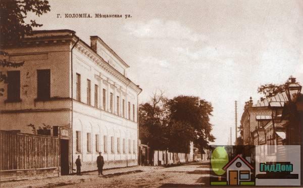 Мещаниновская улица на старой открытке