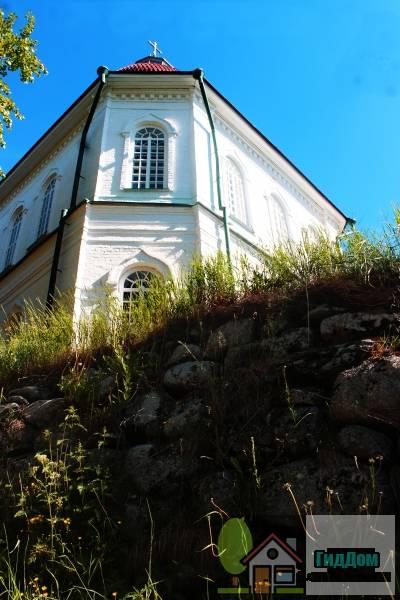 Дорога Соловецкий монастырь - Секирная гора - Савватьево - Исаково - Новая Сосновка