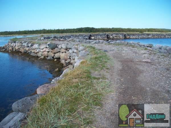 Дорога Соловецкий монастырь -остров Большая Муксалма. Загружен из открытых источников.