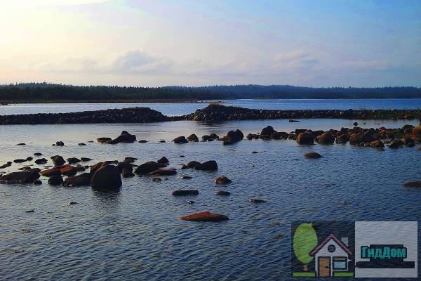 Дорога Соловецкий монастырь -остров Большая Муксалма