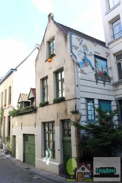(Traditioneel huis en bijgebouw)