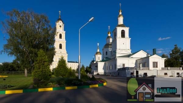 ансамбль Серафимо-Дивеевского монастыря