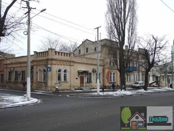 Дом, в котором в 1867-1876 гг. жил П.П. Шмидт (Будинок, в якому у 1867-1876 рр. жив  П.П. Шмідт)