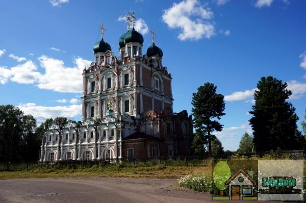 Монастырь Введенский Сольвычегодский