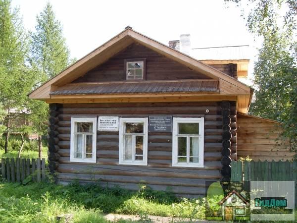 Сольвычегодский музей - памятник политической ссылки. Загружен из открытых источников.