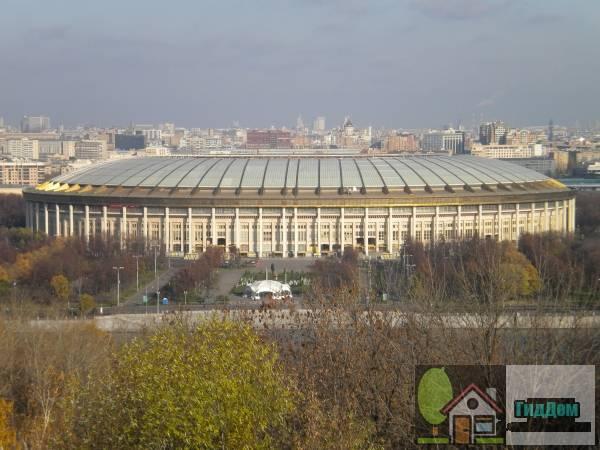 Большая спортивная арена Лужники