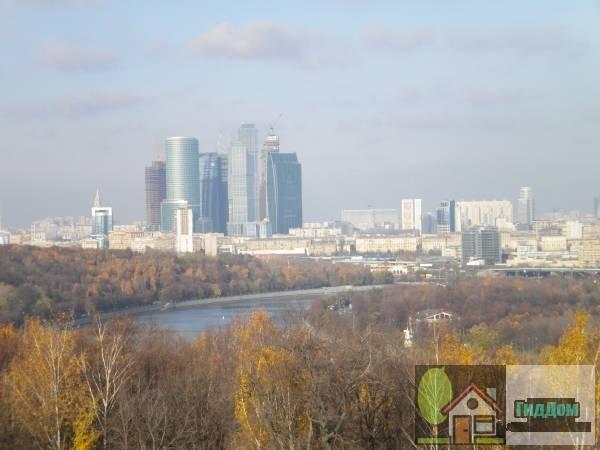 Общий вид на Москву с Воробьёвых гор