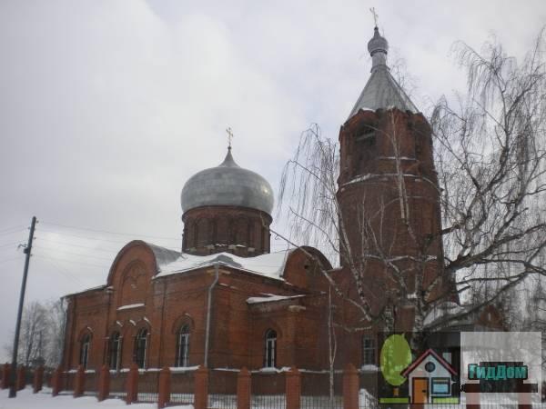 Успенская церковь в Мячкове
