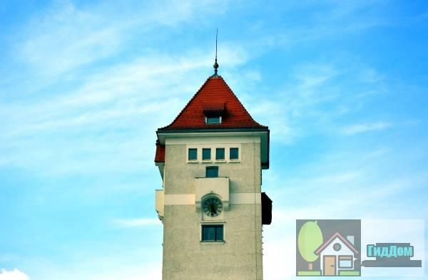 (Wasserturm des ehem. Schlachthofes)