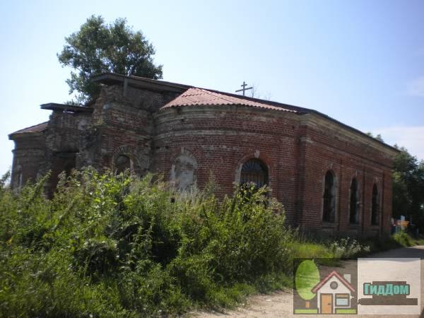 Покровская церковь в Лысцево