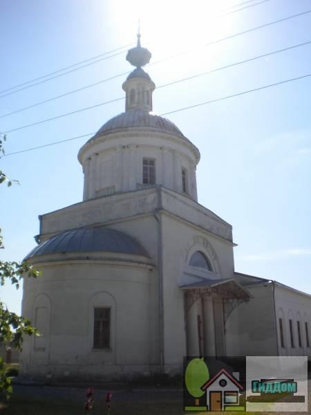 Церковь святителя Николая в Парфентьеве