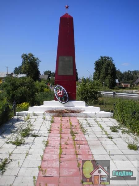 Военный монумент в Парфентьеве