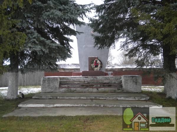 Памятник павшим воинам в Шкине