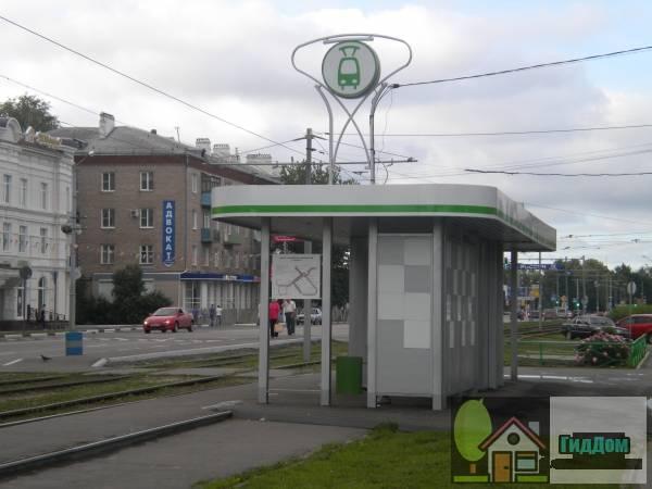 Трамвайная остановка «Трамвайное управление» на проспекте Кирова