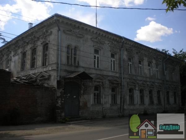 Фасад дома Ротиных на Комсомольской улице
