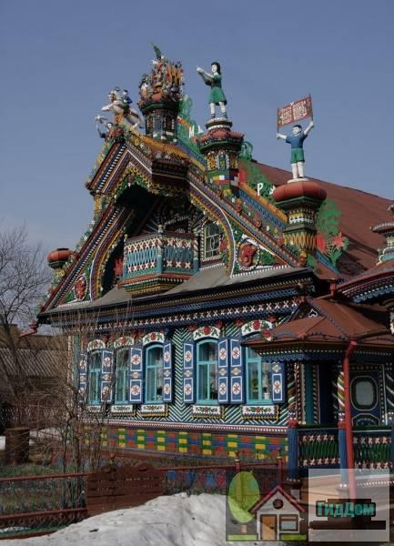 Дом кузнеца Кириллова в Кунаре близ Невьянска