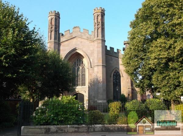 ([[St John the Evangelist's Church, Derby Church of St John the Evangelist]]). Загружен из открытых источников.