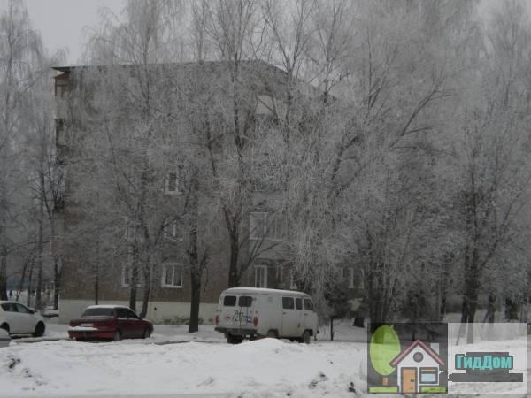 Вид вполоборота на панельный пятиэтажный жилой дом №58 на проспекте Кирова с северо-восточной стороны. Снимок сделан в светлое время суток при слабой облачности.