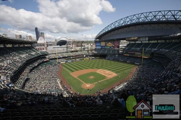 Стадион «Сейфко» в Сиэтлле Файл загружен из открытых источников.
