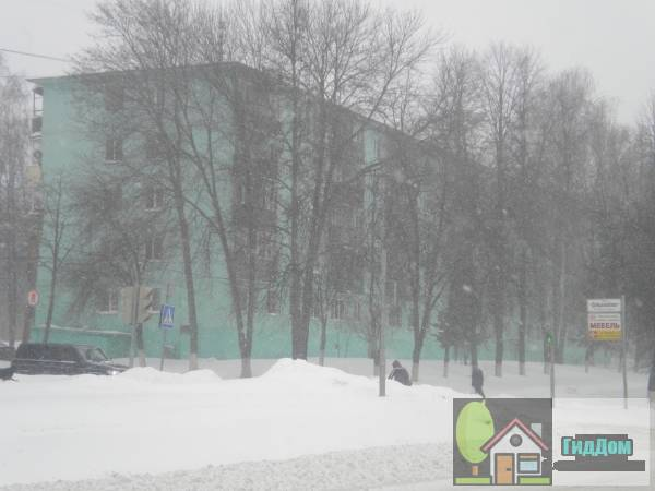 Жилой дом на улице Ленина