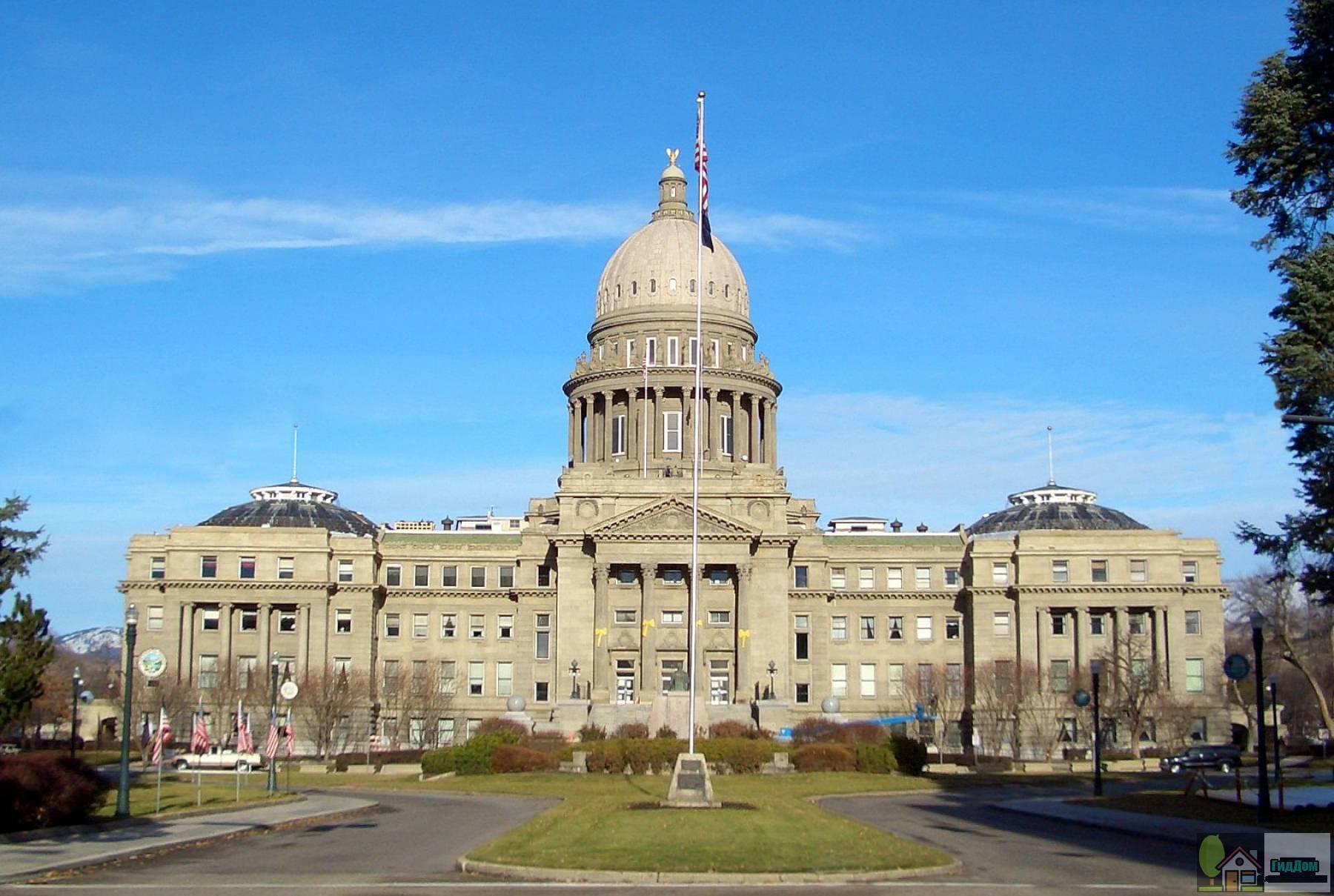 Капитолий штата Айдахо