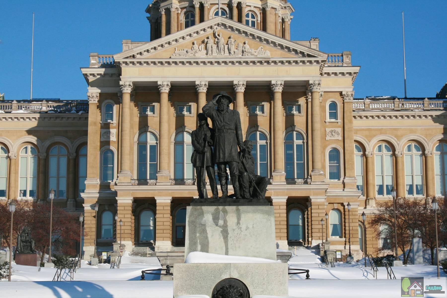 Капитолий штата Айова