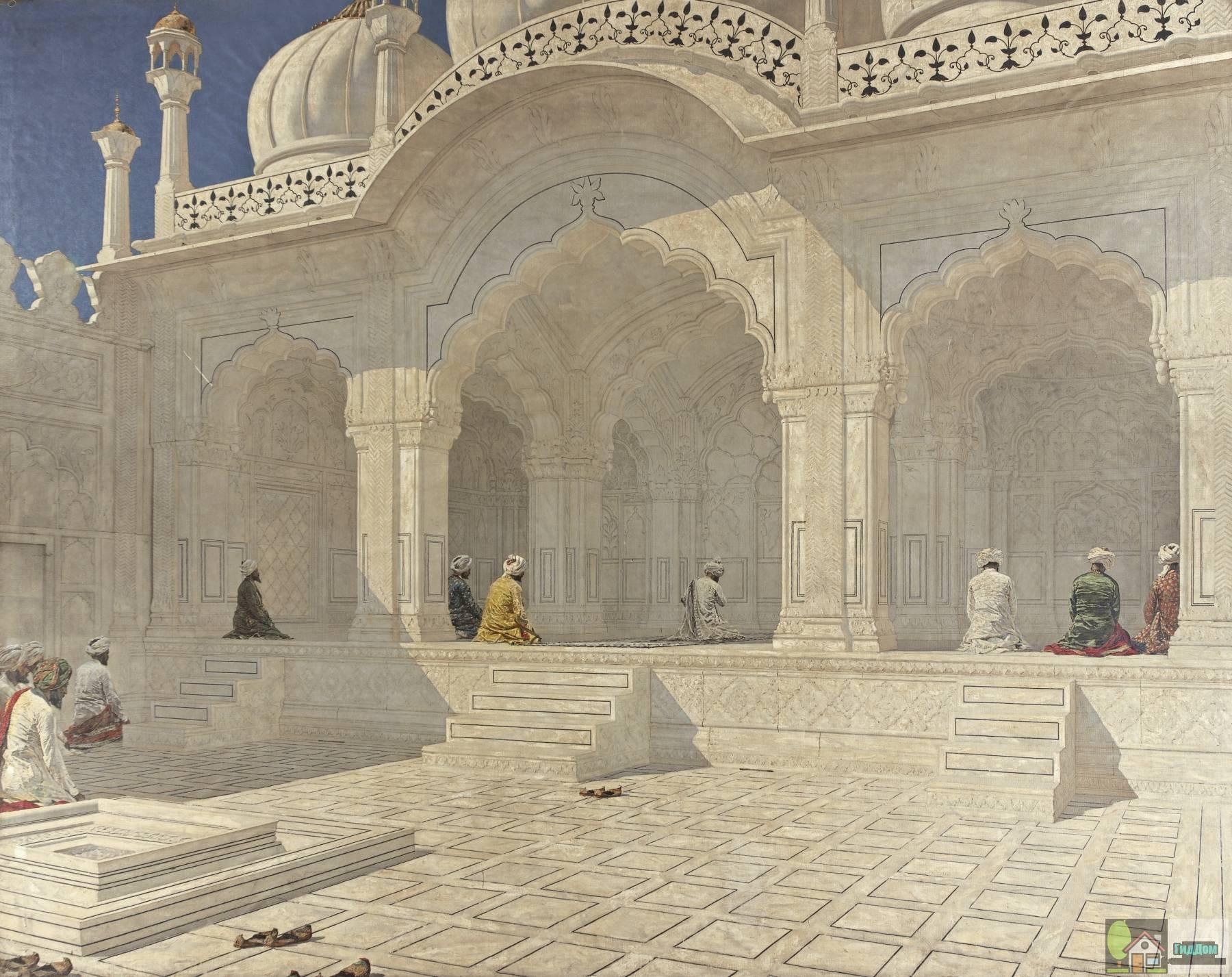 Жемчужная мечеть в Дели