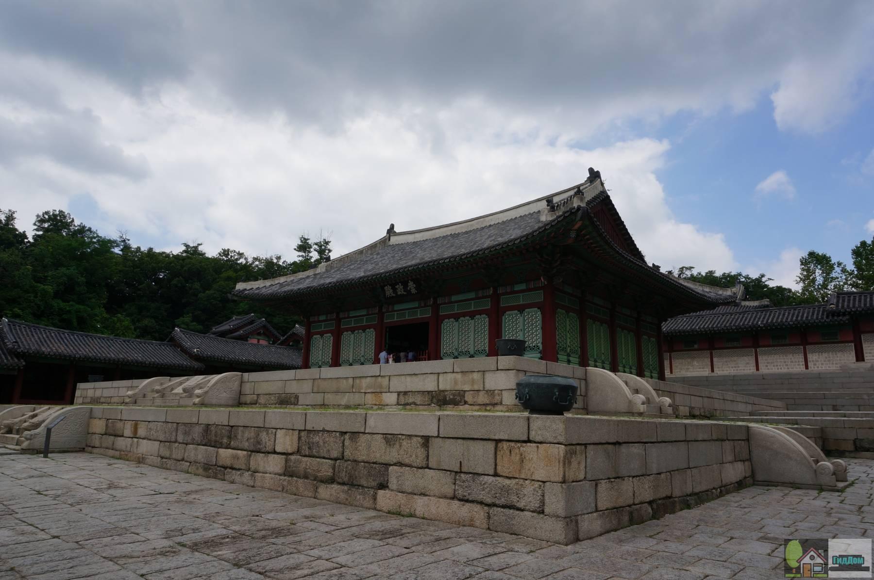 Дворцовый комплекс Кёнхигун в Сеуле