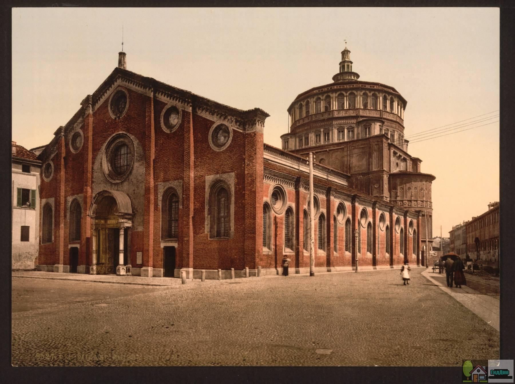 Собор Санта-Мария-делле-Грацие в Милане