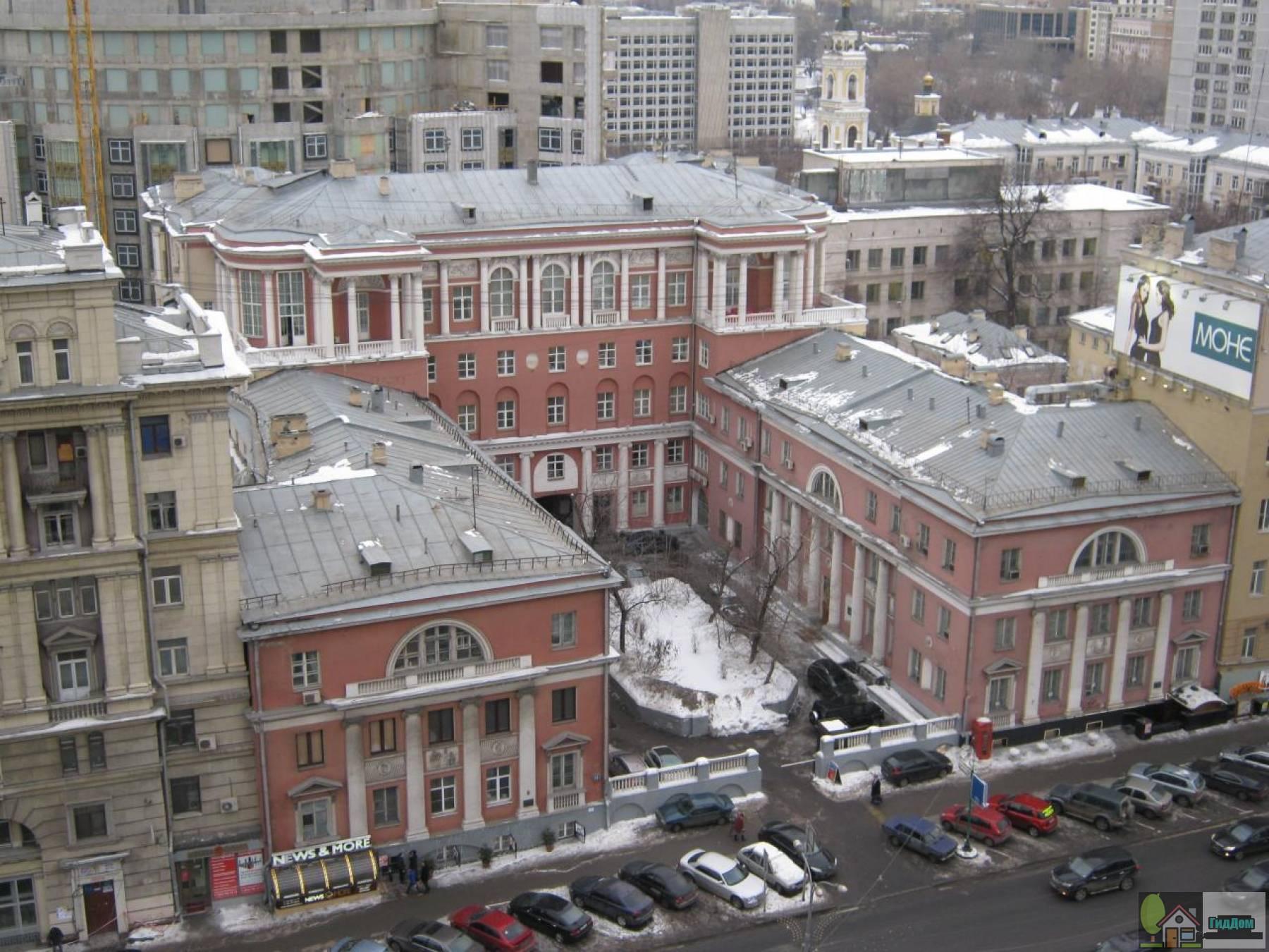 Доходный дом Щербатова
