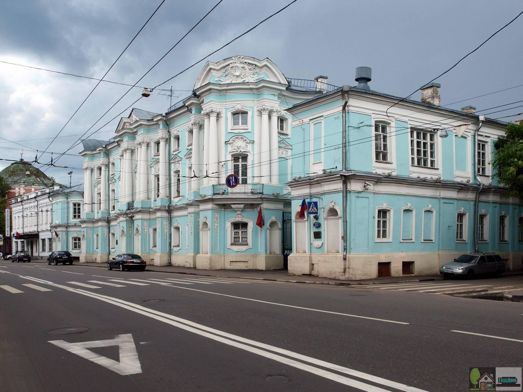 Дом Апраксиных — Трубецких.
