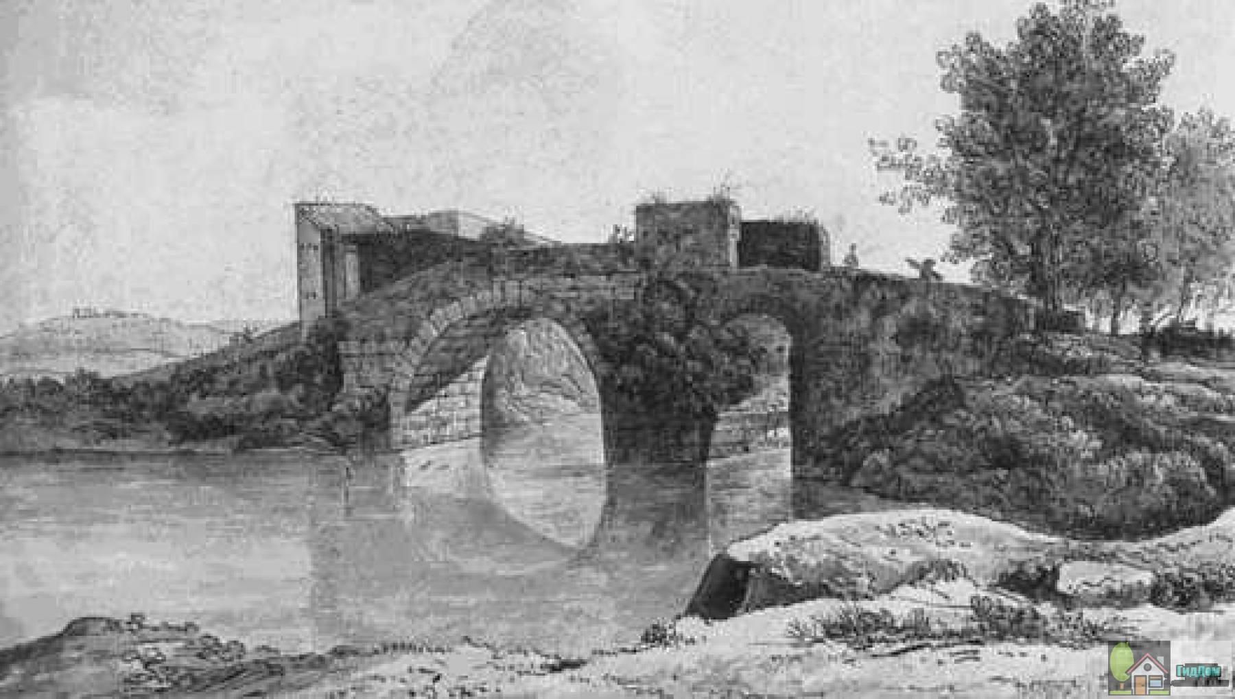 Мост Маммоло в Риме
