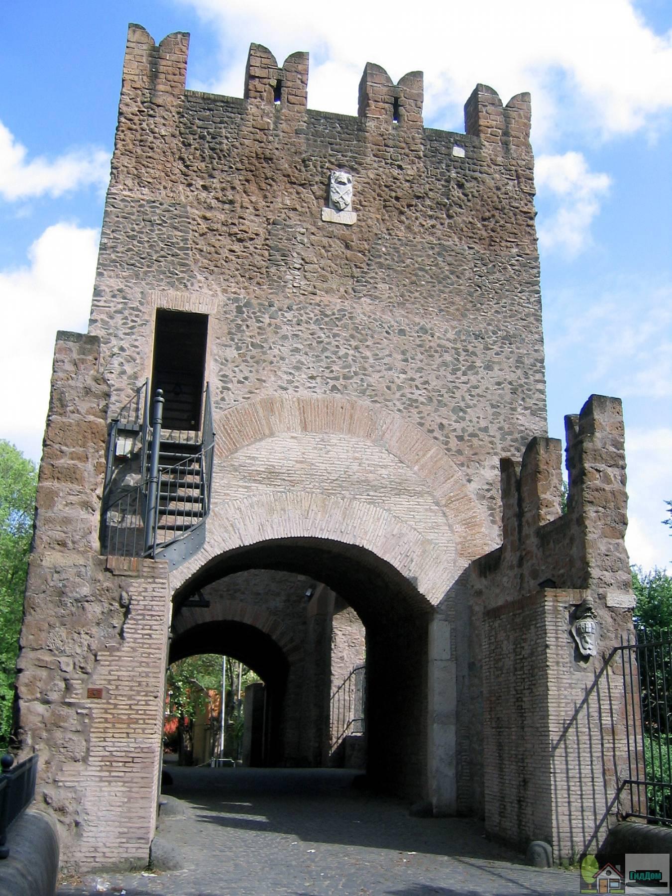 Мост Номентано в Риме