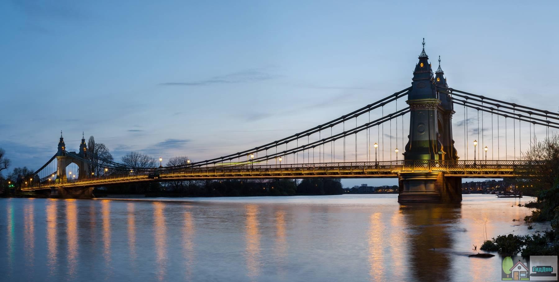Хаммерсмитский мост через Темзу