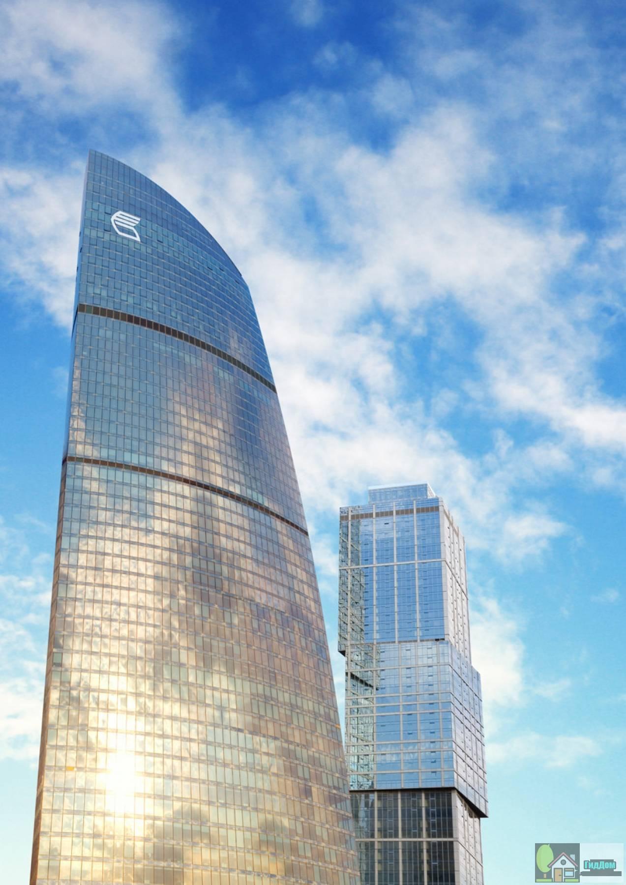 Башня Федерация - место размещения головного офиса Группы ВТБ