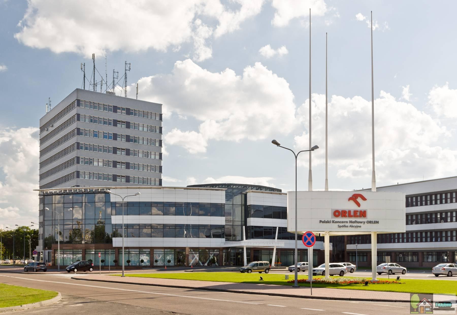 Штаб-квартира Орлен в Плоцке