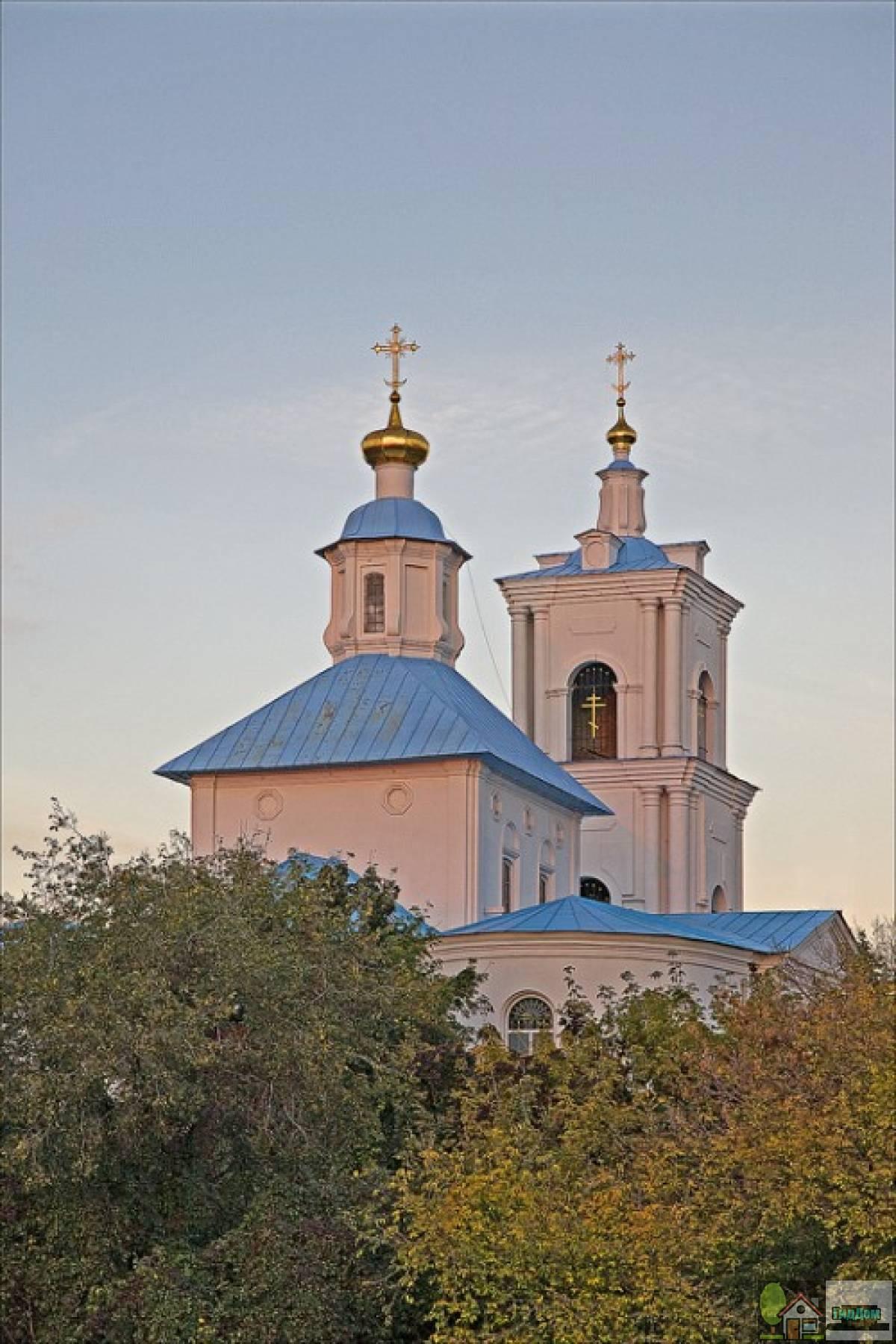 Церковь Тихвинской иконы Божией Матери (Тихвино-Онуфриевская)