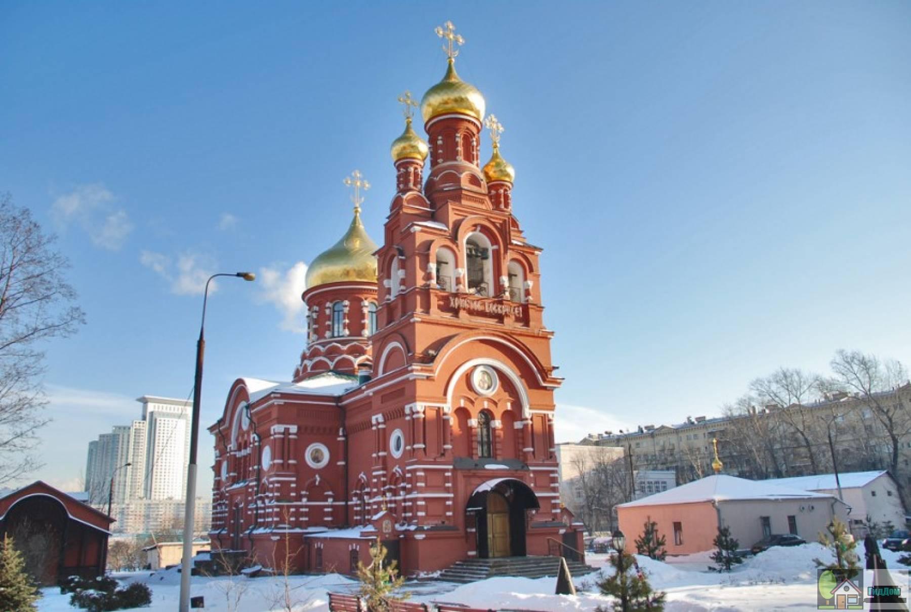 Алексеевский женский монастырь в Красном селе