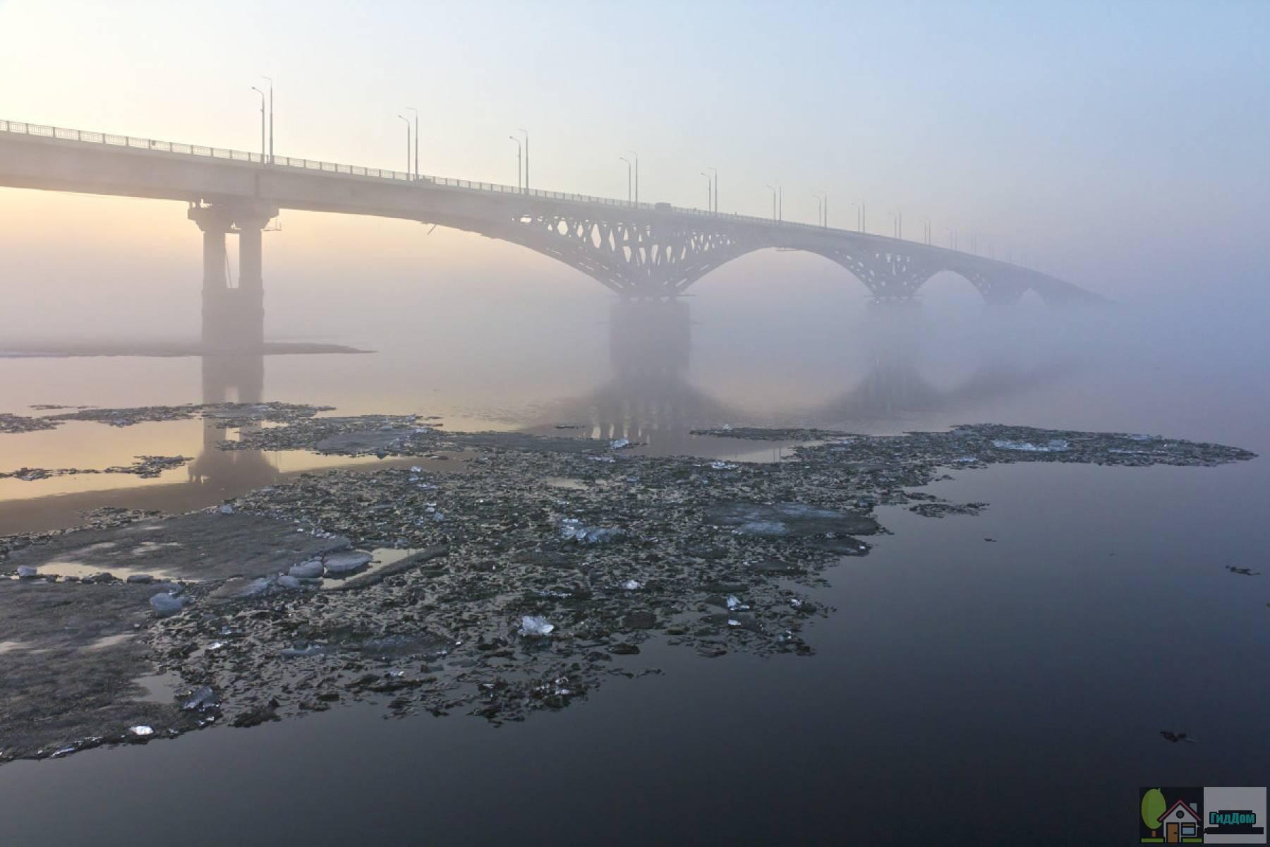Саратовский мост Файл загружен из открытых источников.