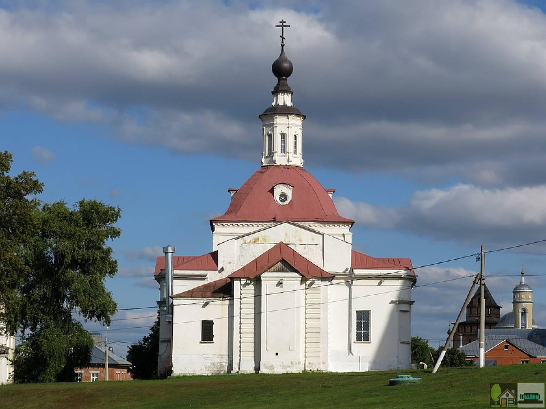 Церковь Воскресения Словущего в крепости
