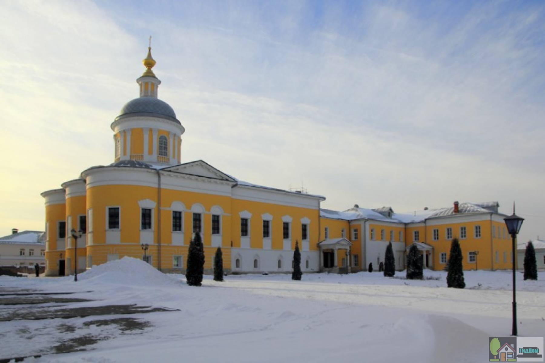 Церковь преподобного Сергия Радонежского Староголутвинского монастыря