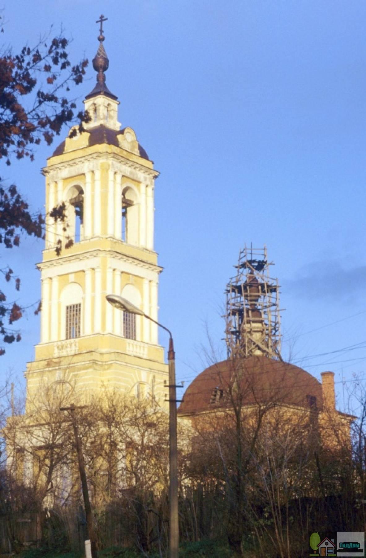 Церковь Святой Троицы на Репне Файл загружен из открытых источников.