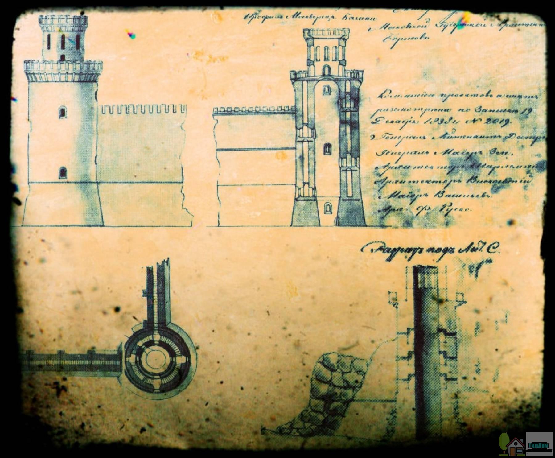 Схема Свибловой башни
