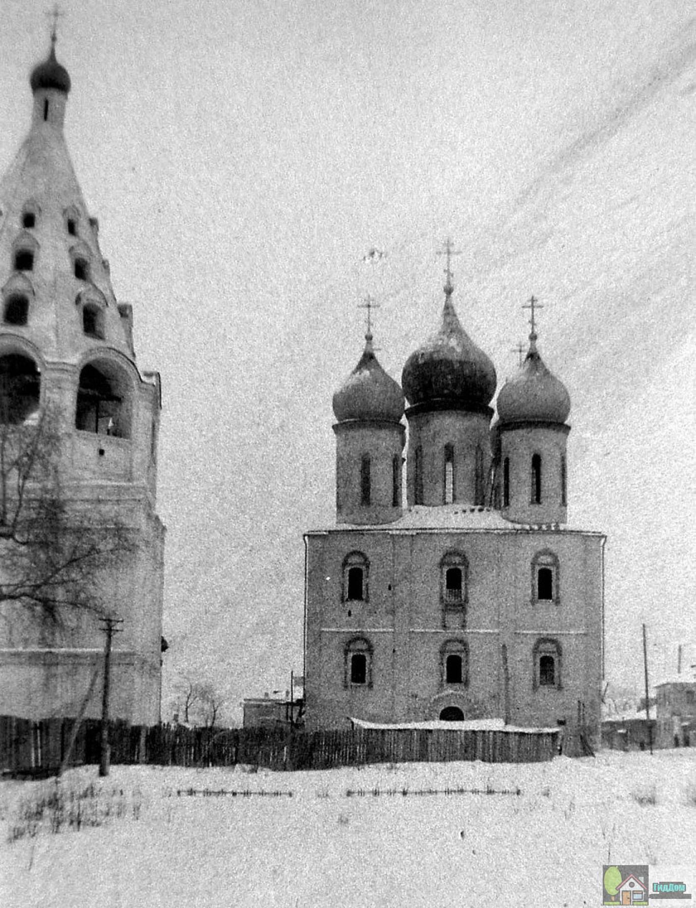 Успенский кафедральный собор в 1950-е годы